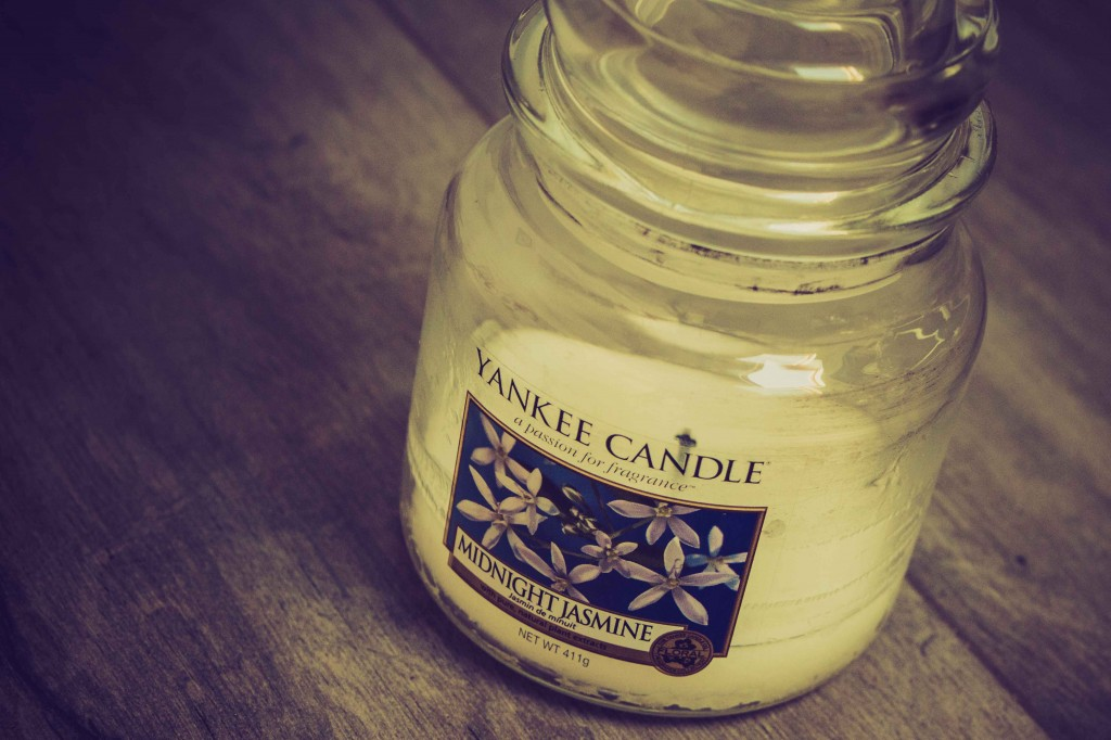 Bougie Midnight Jasmin, Yankee Candle