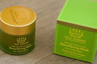 Le masque resurfaçant Tata Harper : du bio…du luxe !
