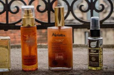 L'huile pour le corps : ma sélection été 2014