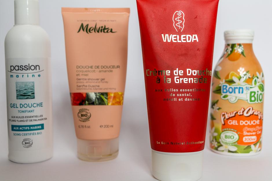 Favoris 2014 : crème de douche à la Grenade, Weleda
