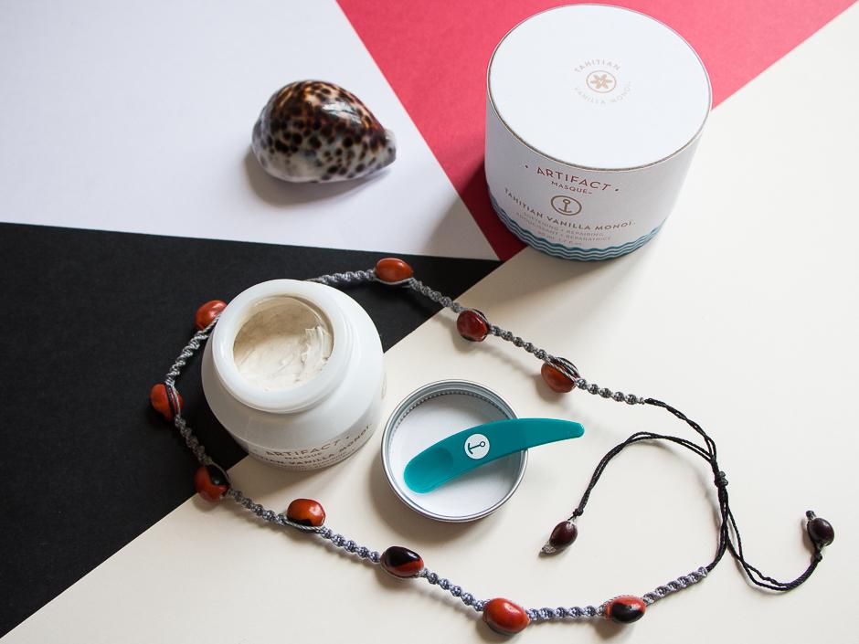 Artifact Skin Co. Masque Tahitian Monoi Vanilla
