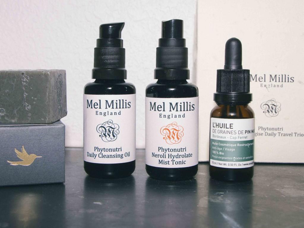 Routine de soins bio Mel Millis