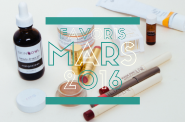 Favoris Beauté Bio Mars 2016