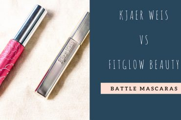 Battle mascara Kjaer Weis vs FitGlow Beauty