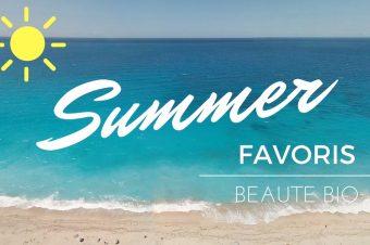 Favoris beauté bio de l'été 2016 sur Youtube
