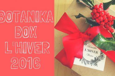 Botanika Box, la box beauté bio et naturelle venue de Suède