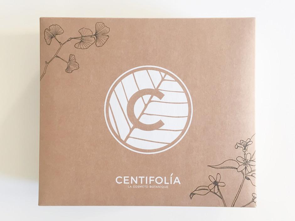Coffret de Noel Green Centifolia