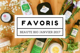 Favoris Beauté Bio Janvier 2017 sur Youtube