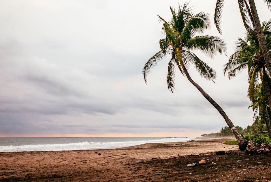 La plage de Junquillal - Costa Rica