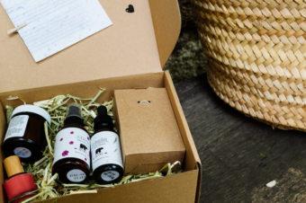 Air champêtre & Artémis dans la box beauté Aziza