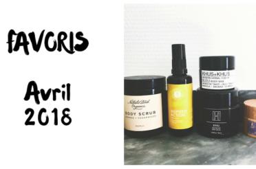 Parfums délicieux et favoris avril 2018