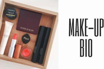 Maquillage bio et naturel pour les beaux jours