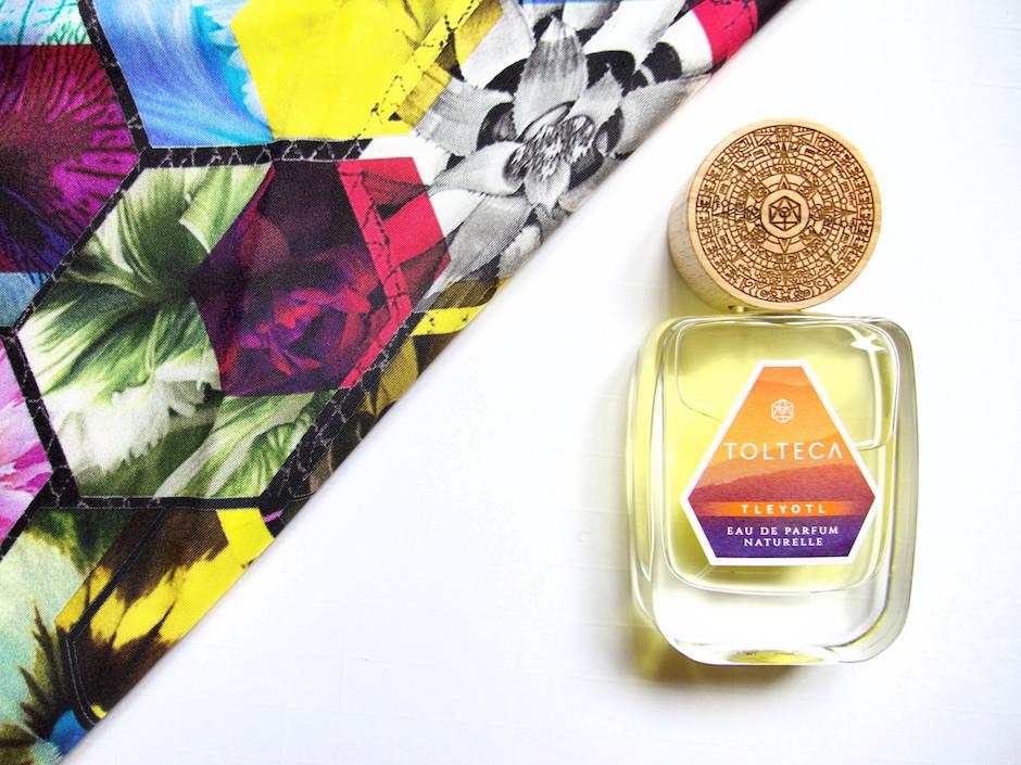 parfum naturel et végane Tolteca
